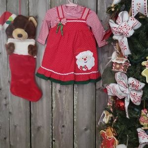 CHRISTMAS Cord Dress and Top Set